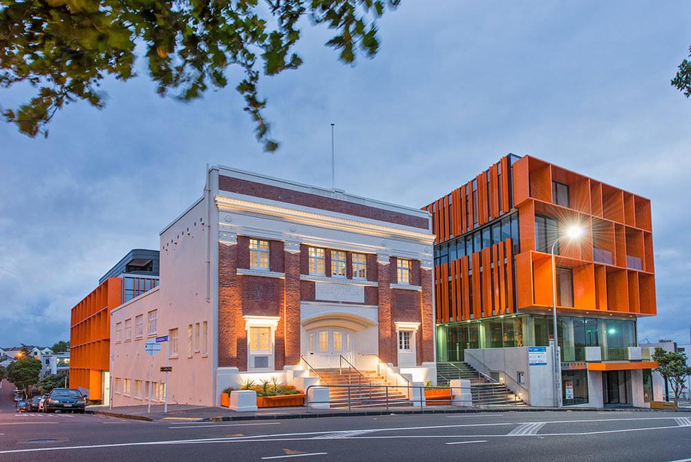 The Orange Coronation Hall, Auckland