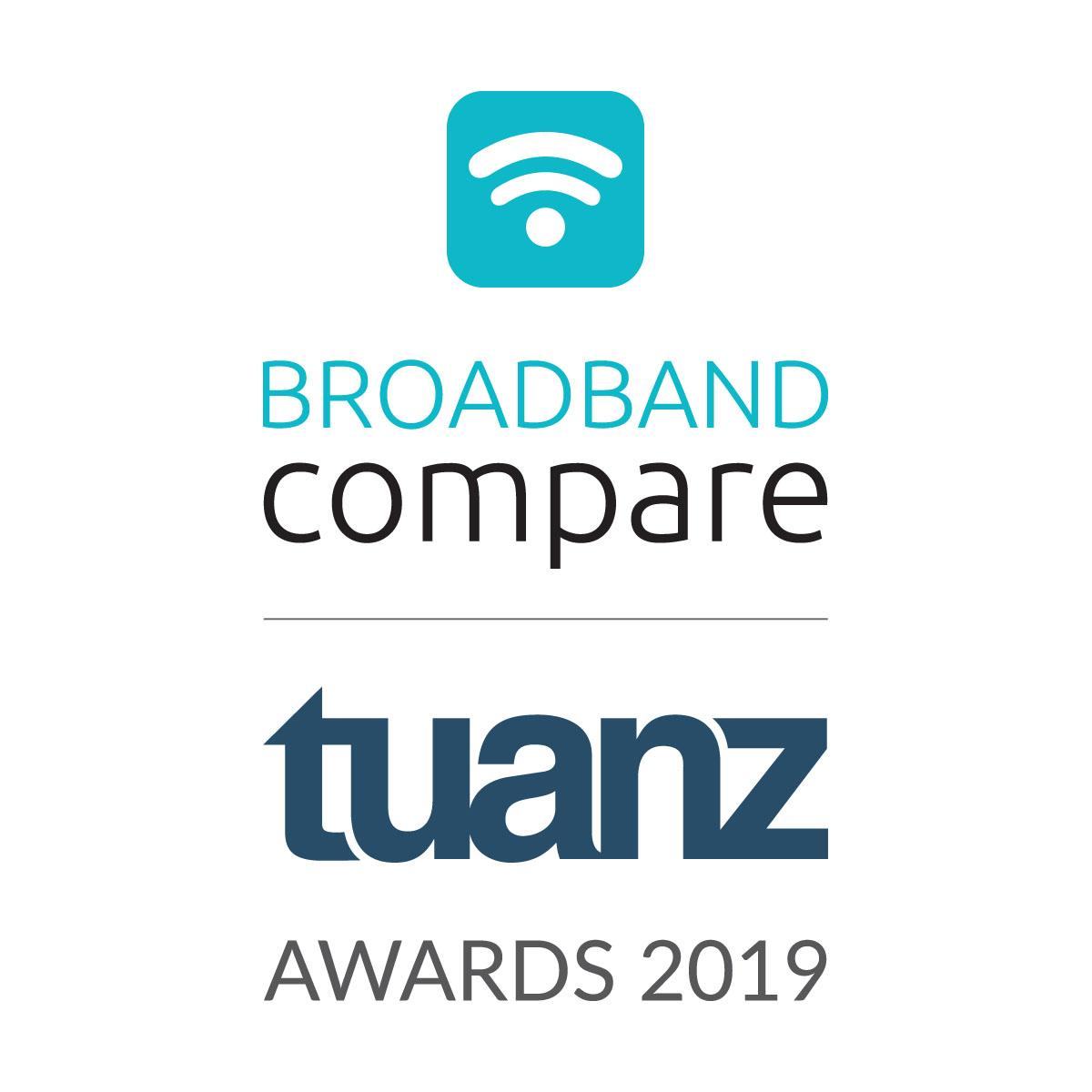 Broadband Compare TUANZ Awards 2019